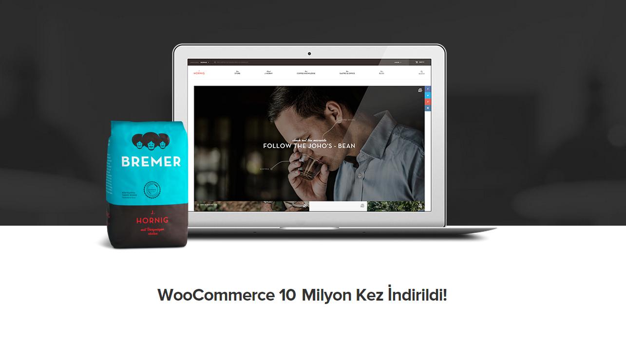 WooCommerce 10 Milyon Kez İndirildi!