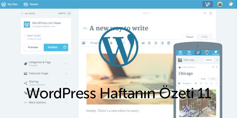 WordPress.Com Yüksek Hızlı Editörünü Tanıttı!