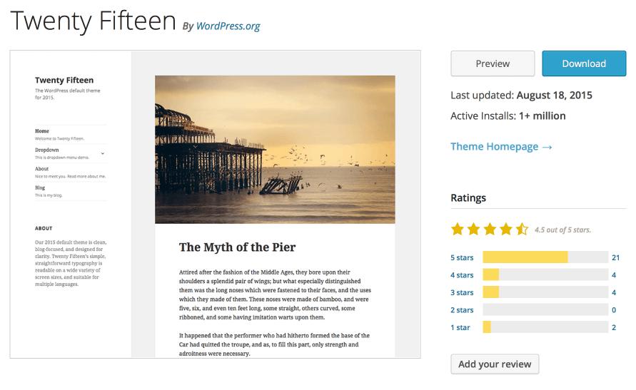 WordPress Tema İndirilme Sayısı ve Aktif Kullanım Sayısı