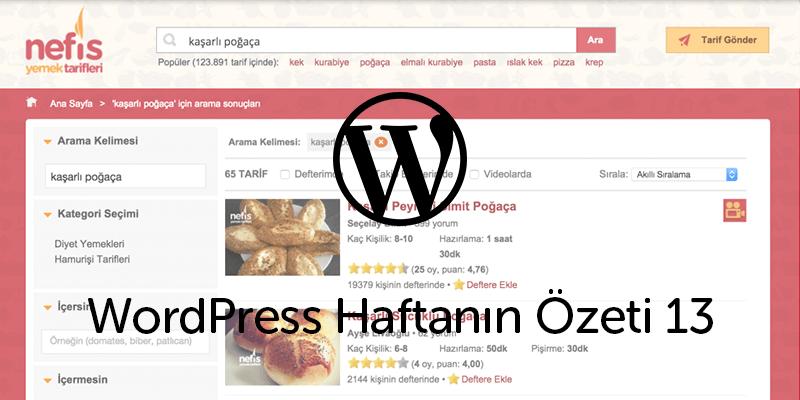 WordCamp US'de Örnek Bir Türk Sitesi: Nefis Yemek Tarifleri